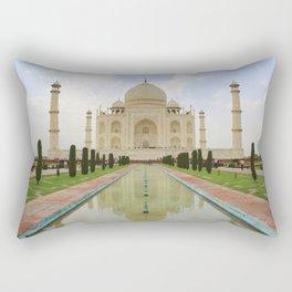 The Taj Mahal Rectangular Pillow