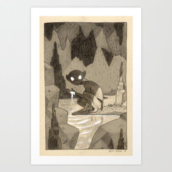 Game of Riddles Art Print