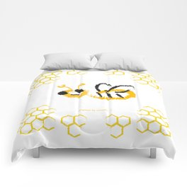 Happy bee Comforters
