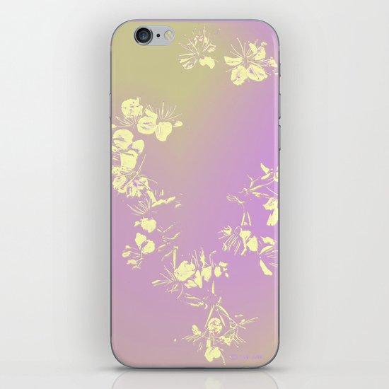 Tender_pastel 3 luik iPhone & iPod Skin