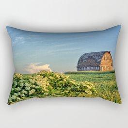 Elderberries And Old Barns Rectangular Pillow
