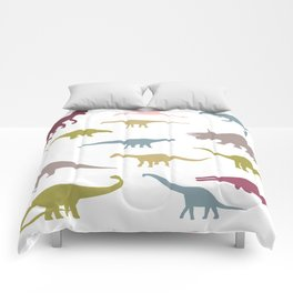 Colorful dinos pattern Comforters