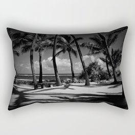 Kuau Beach Palm Trees Paia Maui Hawaii Rectangular Pillow