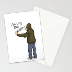 All Cops Are Bastard !!! Stationery Cards