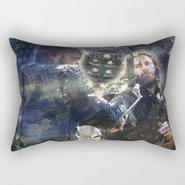 Rage Fire Rectangular Pillow