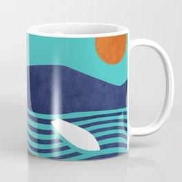 Surfing board Coffee Mug
