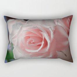 Baby Pink Roses Rectangular Pillow