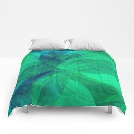 Circular Deconstruction III Comforters