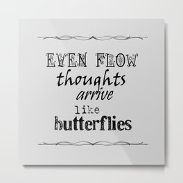 Even Flow Metal Print