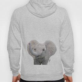 Elephant Calf Art Hoody