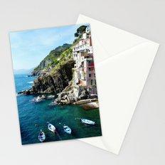 Riomaggiore Harbor Stationery Cards