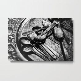 Spooning Metal Print