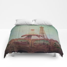 Bohemia of Paris Comforters