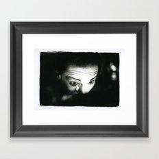 Gettin' Ready Framed Art Print