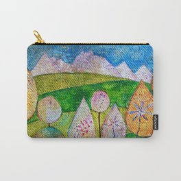 Unicorns Graze Here Carry-All Pouch