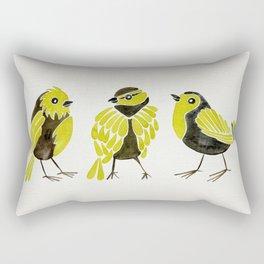Goldfinches Rectangular Pillow