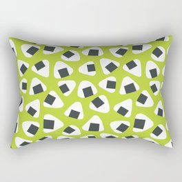 Onigiri (rice balls) pattern Rectangular Pillow