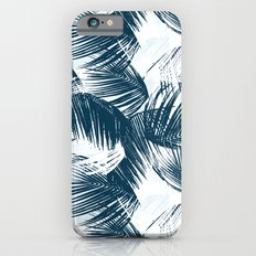 Blue Palm Leaves iPhone 6s Slim Case