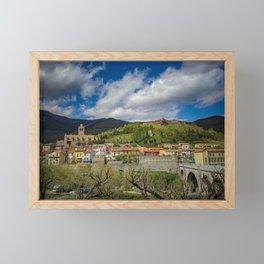 Prats-de-Mollo-La-Preste Framed Mini Art Print
