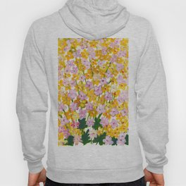 Yellow Flowers Bloom Hoody