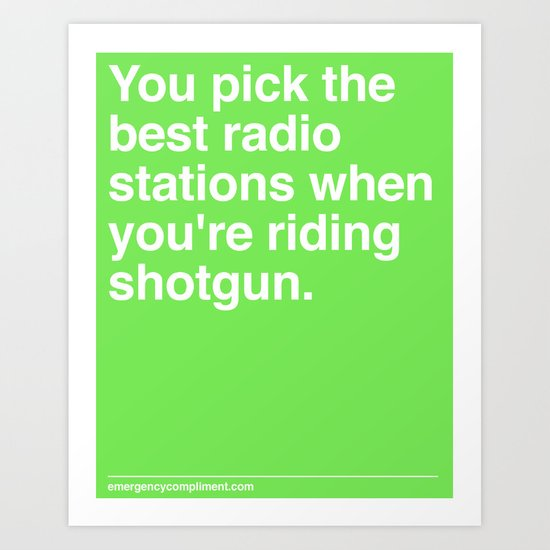 Best Radio Stations Art Print