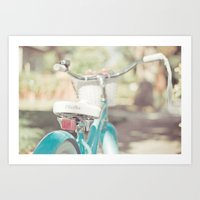 Little Bicycle Art Print