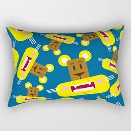 Cute Cartoon Lioness Pattern Rectangular Pillow