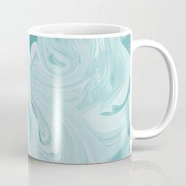 Blue Green Marble Coffee Mug