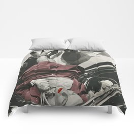 Geometric Evelyn. Comforters