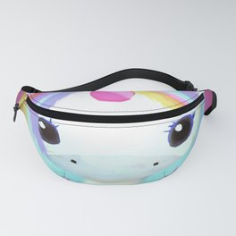 Chibi Unicorn (Dark Pink) Fanny Pack