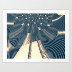 logistics Art Print