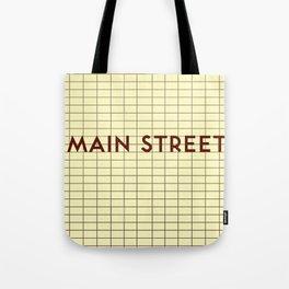 MAIN STREET | Subway Station Tote Bag