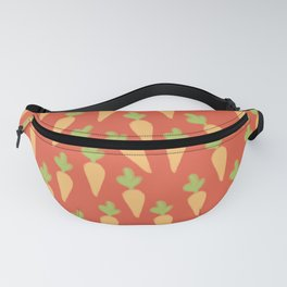 Carrot Pattern Fanny Pack