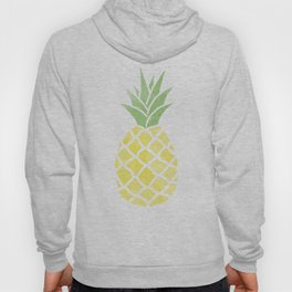 Watercolor Pineapple Hoody