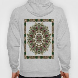 Mandala No. 8 - Ruby, Emeralds & Diamonds Hoody
