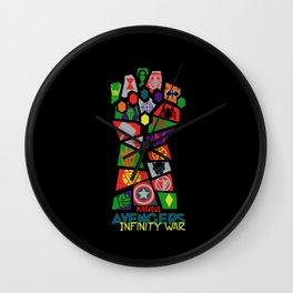 Infinity War Wall Clock