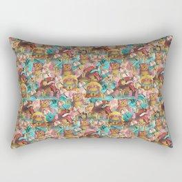 Bear Pool Party Rectangular Pillow