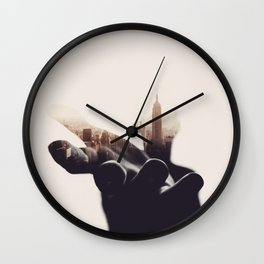 Sheltered Dreams II Wall Clock
