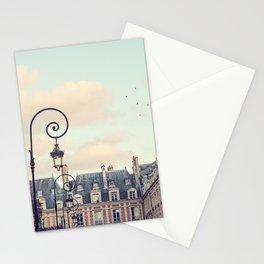 PLACE DES VOSGES (Paris, France) Stationery Cards