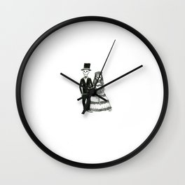 LuvSkeltons Wall Clock