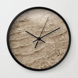 Wheel Loader Skid Marks Wall Clock