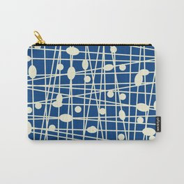 Navy Blue Carry-All Pouch