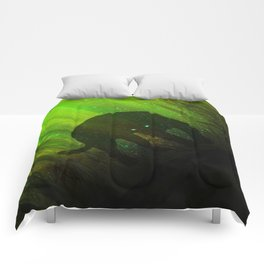 Black Panther Silhouette Comforters
