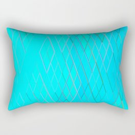 Re-Created Vertices No. 6 by Robert S. Lee Rectangular Pillow