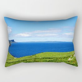 Antrim Coast. Ireland Rectangular Pillow