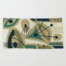 Tehuya Beach Towel