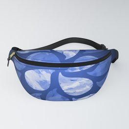 Abstract Water Drops XX Fanny Pack