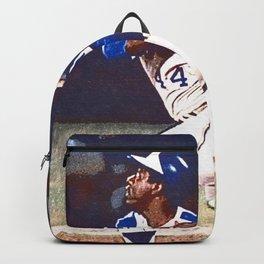 "Henry Louis Aaron - ""Hammerin' Hank"" Society6 Baseball Hall Of Fame 2 Backpack"