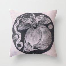 Totenkopf Throw Pillow