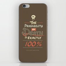 Morbid Reality #01 iPhone & iPod Skin